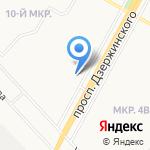 Светлячок на карте Ярославля