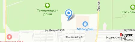 Антей на карте Ростова-на-Дону