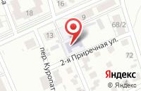 Схема проезда до компании Ярославич в Ярославле