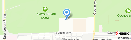 Зеленый талисман на карте Ростова-на-Дону