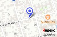 Схема проезда до компании МАГАЗИН АВТОЗАПЧАСТЕЙ АЛЬТАИР в Пролетарске