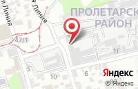 Схема проезда до компании Граффити в Ростове-На-Дону