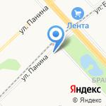 Отделение почтовой связи №45 на карте Ярославля