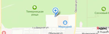 Комфорт-Юг на карте Ростова-на-Дону