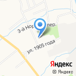 Волна на карте Ярославля