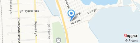 Сёма на карте Батайска