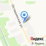 Монолит на карте Ярославля