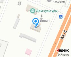Схема местоположения почтового отделения 352068