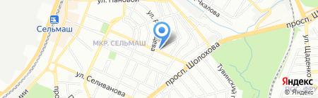 Вероника на карте Ростова-на-Дону
