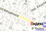Схема проезда до компании Вероника в Ростове-на-Дону