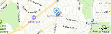 Matrica61.ru на карте Ростова-на-Дону