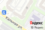 Схема проезда до компании Продовольственный магазин в Рязани