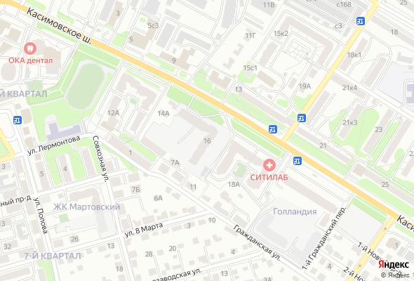 купить квартиру в ЖК на Касимовском шоссе
