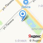 Екатерина на карте Ярославля