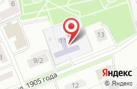 Схема проезда до компании Детский сад №17 в Ярославле
