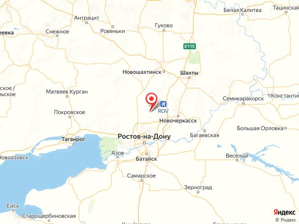 хутор Октябрьский на карте