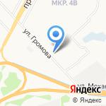 Союз на карте Ярославля