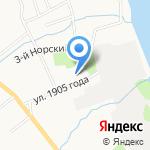 Детский сад №55 на карте Ярославля