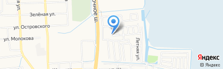 Национальная жилищная корпорация-Юг на карте Батайска
