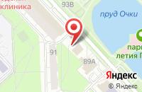 Схема проезда до компании Яблоко в Ярославле