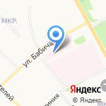Детский стационар областного противотуберкулезного диспансера на карте Ярославля