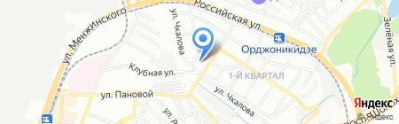 Школа-интернат №42 для детей с ограниченными возможностями здоровья на карте Ростова-на-Дону