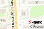 Схема проезда до компании Институт красоты в Северодвинске