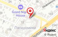 Схема проезда до компании Барс в Ростове-На-Дону