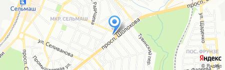 Александра на карте Ростова-на-Дону