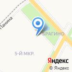 Канцона на карте Ярославля