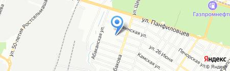 ВВВ на карте Ростова-на-Дону