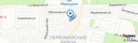 Энергострой-М.Н. на карте Ростова-на-Дону
