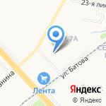 Sunrise на карте Ярославля