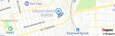Детский сад №238 Чебурашка на карте Ростова-на-Дону