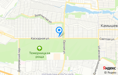 Местоположение на карте пункта техосмотра по адресу г Ростов-на-Дону, ул Каскадная, д 88