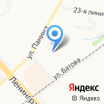 Похудейка на карте Ярославля