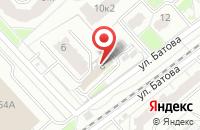 Схема проезда до компании Прокуратура Дзержинского района в Ярославле