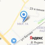 Вишенка на карте Ярославля