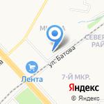 Ярославская прокуратура по надзору за исправительными учреждениями на карте Ярославля