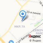 Bestия на карте Ярославля