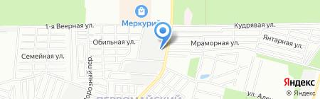 Мебельтекс на карте Ростова-на-Дону