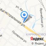 Одесса на карте Ярославля