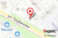 Схема проезда до компании Радиал в Ярославле