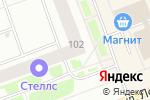 Схема проезда до компании ПЖРЭП-2 в Северодвинске