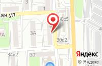 Схема проезда до компании Пятерочка в совхозе Раменское