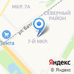 Светлояр на карте Ярославля