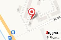 Схема проезда до компании Ивняки в Ивняках
