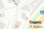 Схема проезда до компании Бар-Сервис в Северодвинске