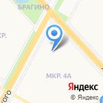 Детский сад №120 на карте Ярославля