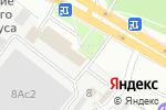 Схема проезда до компании Подиум Р в Рязани